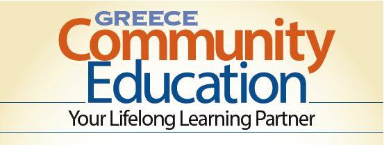Greece Community Education logo