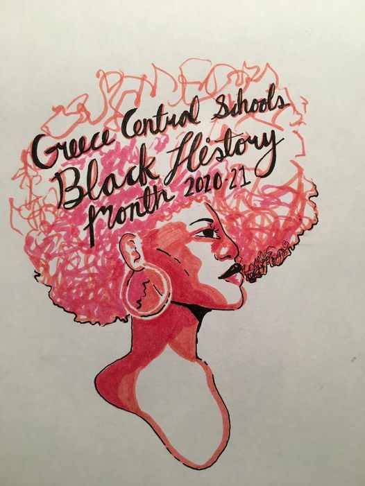 Black History Month Student Drawing
