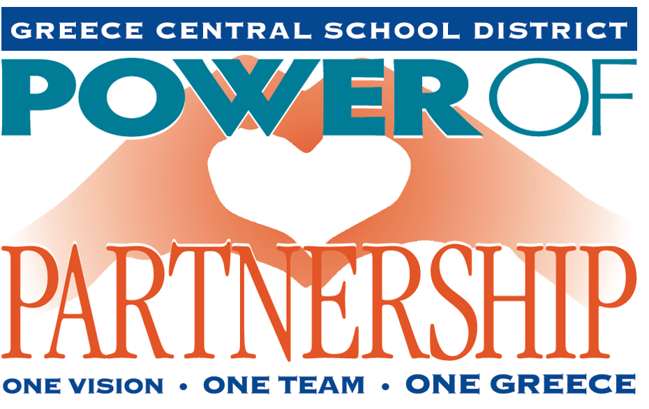 Power of Partnership logo depicting hands making a heart shapw