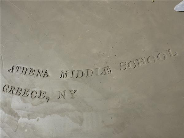 Picture of the engraving on Athena's well in Sudan